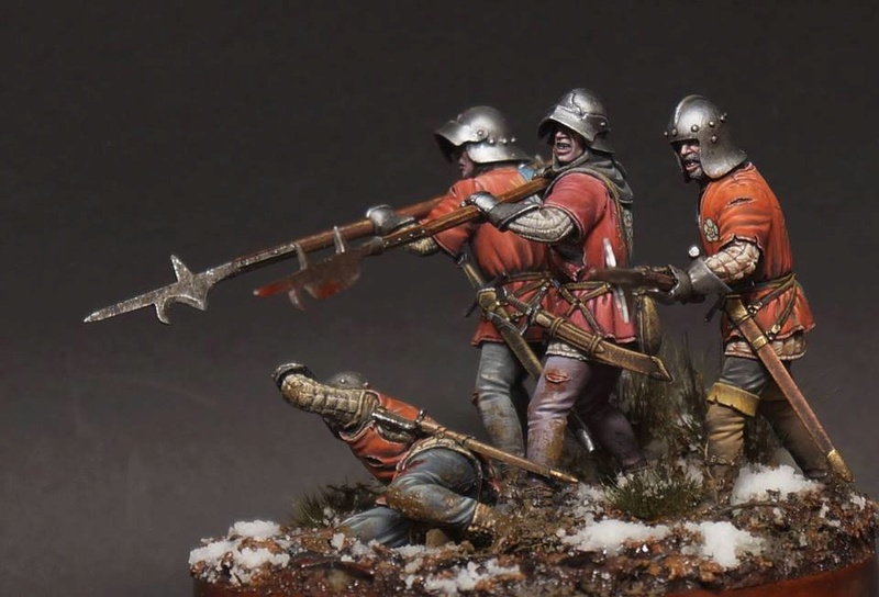 War of the Roses. English infantry. 29244710
