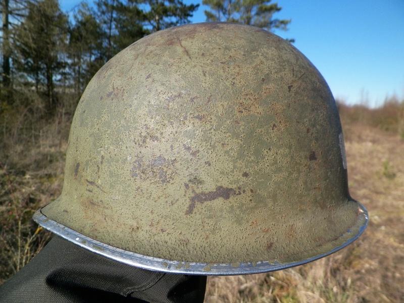 casque US officier à identifier merci 2a11