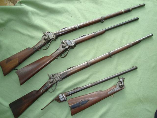 Sharps carbine Dsc01711