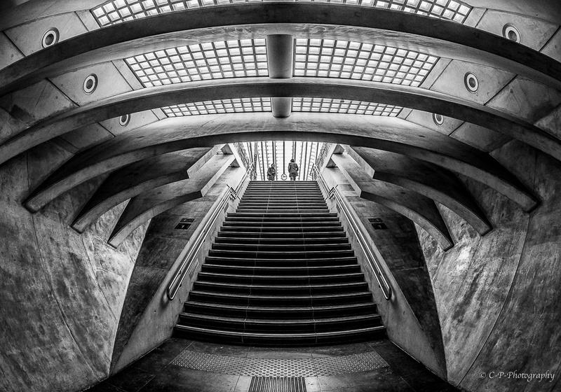 Série N/B sur la gare _2030023