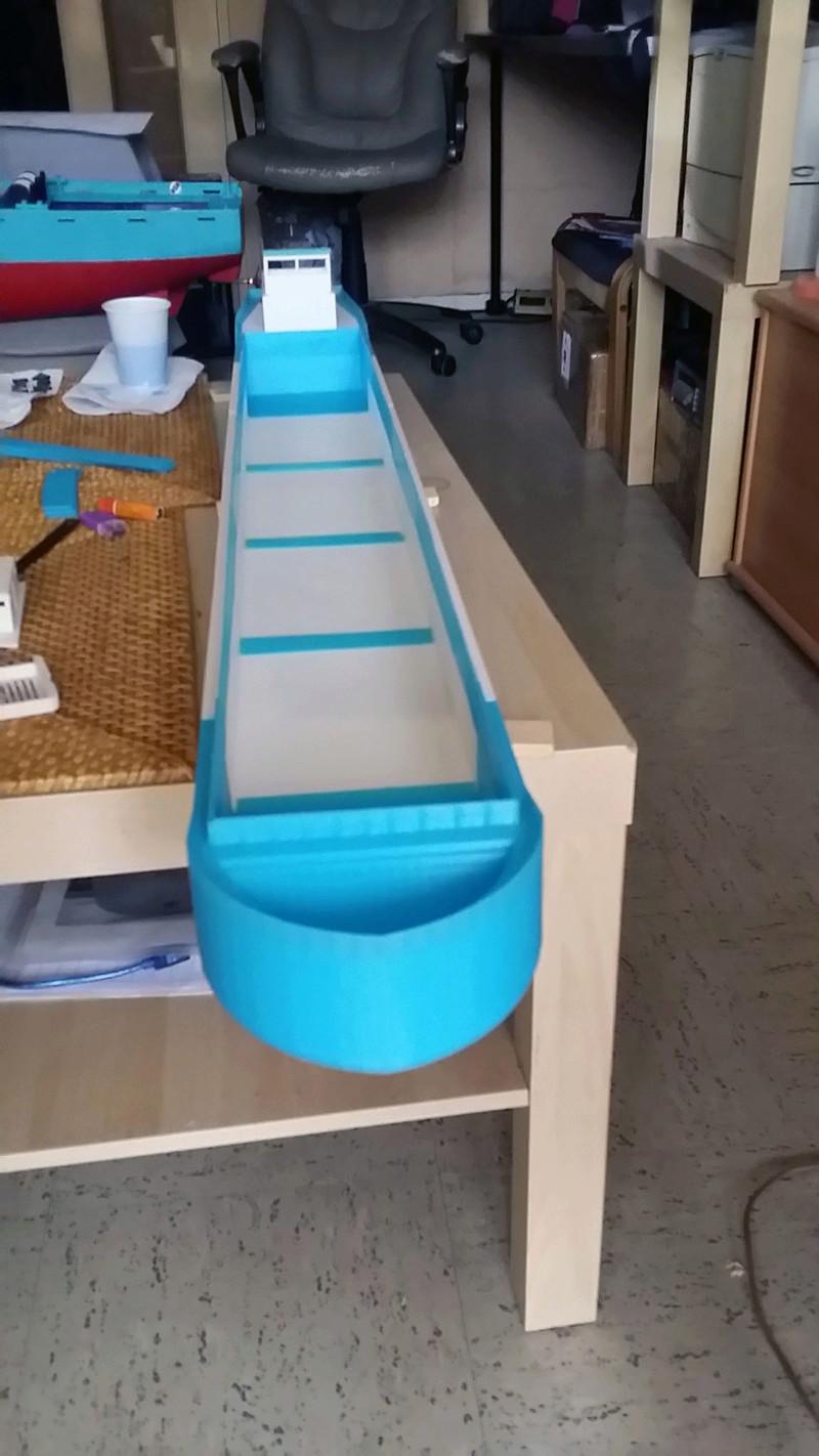 Cargo barge 100% 3D  - vendu 20171172