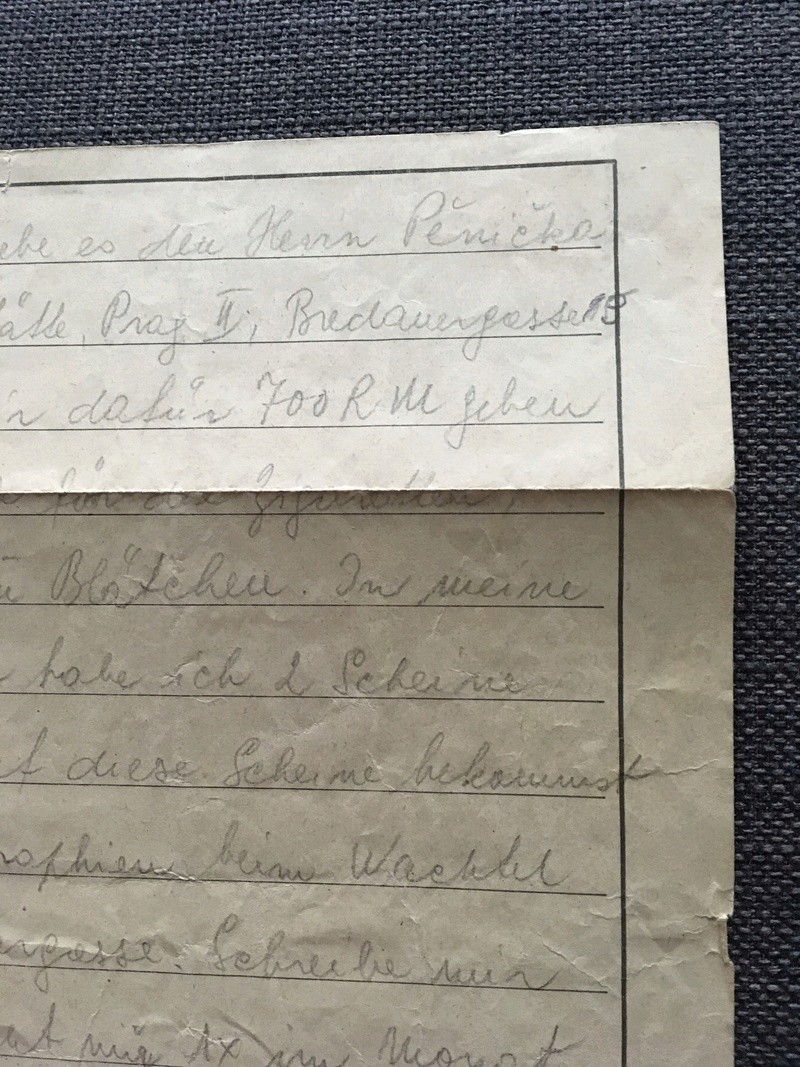 Nouvelles lettres camp de concentration Auschwitz/Buchenwald Edaa4210