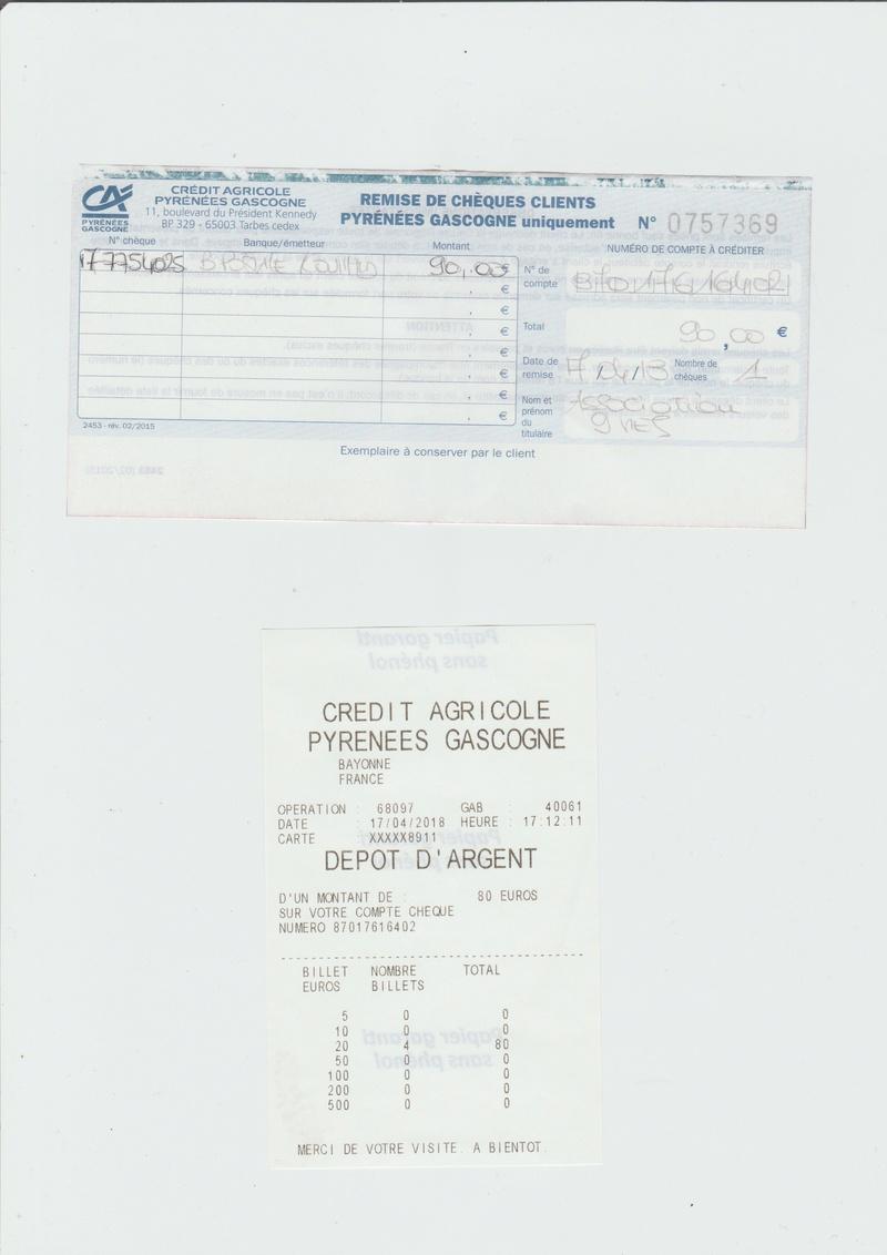 Encaissement Adhésion + Don + Adoption 2017/2018 - Page 2 Numeir92