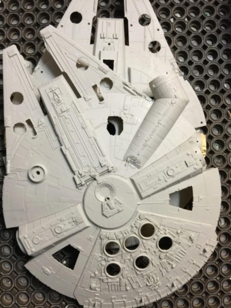 Millenium Falcon von Hasbro Umbau (Langzeitprojekt...) Img_4216