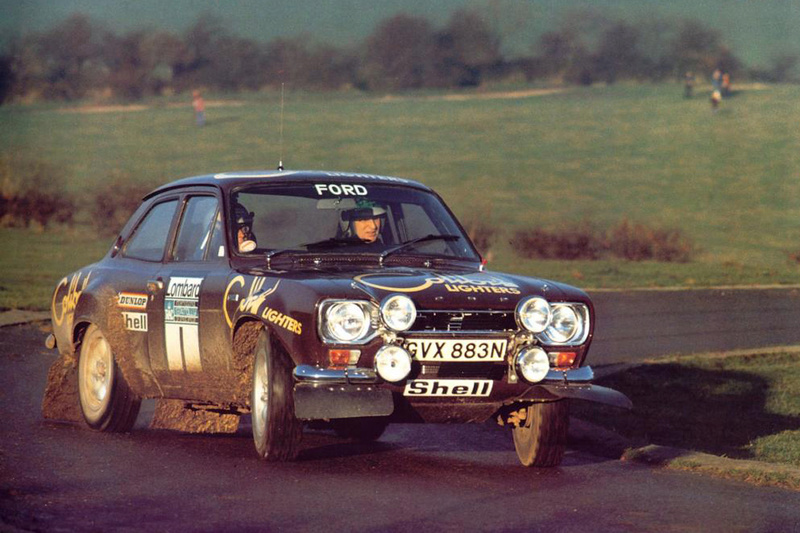 Ford Escort Rs 1600 Mk1 RAC 1974 Makine10