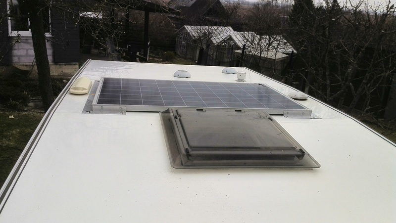 Солнечные панели на караван,кемпер ,прицеп -дачу установка ,монтаж.+375296644694 Минск Img_2010