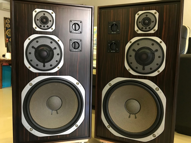 Yamaha Deluxe Version NS-1000 Speakers, Ebony Wood (Used) SOLD Img_4117