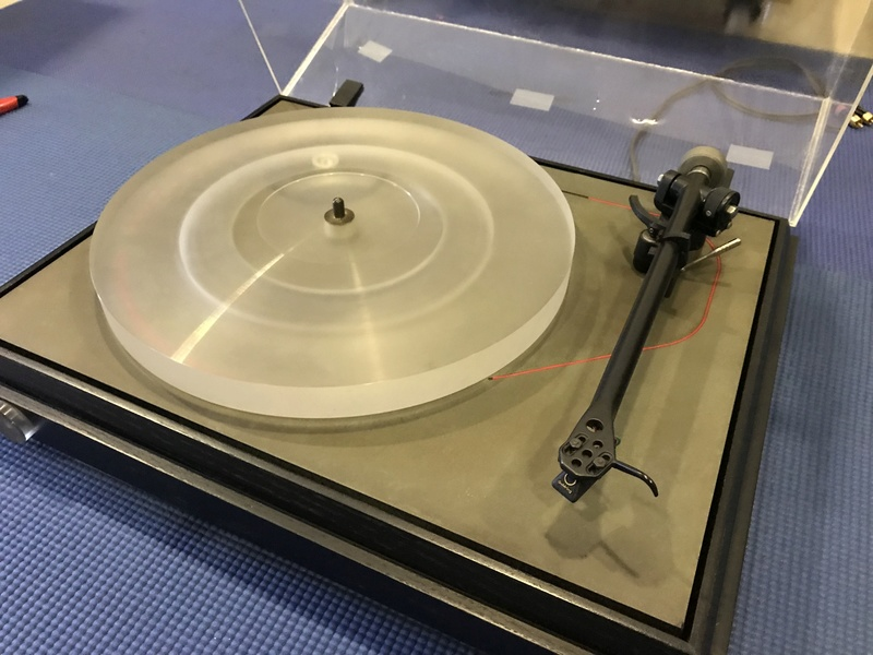 Pink Triangle LPT GT Belt-driven Turntable with Goldring MM Cartridge (Used) Img_4211