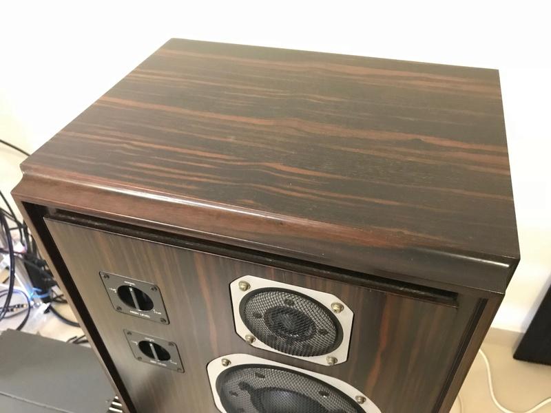 Yamaha Deluxe Version NS-1000 Speakers, Ebony Wood (Used) SOLD Img_4611