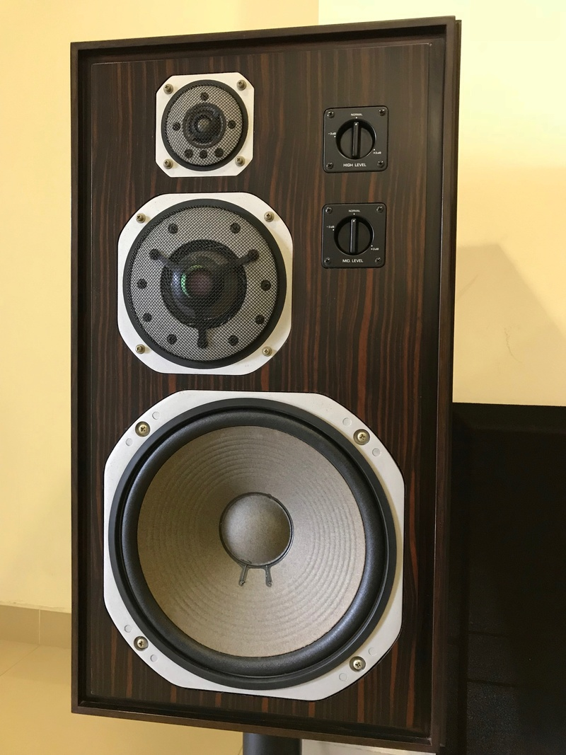 Yamaha Deluxe Version NS-1000 Speakers, Ebony Wood (Used) SOLD Img_4613