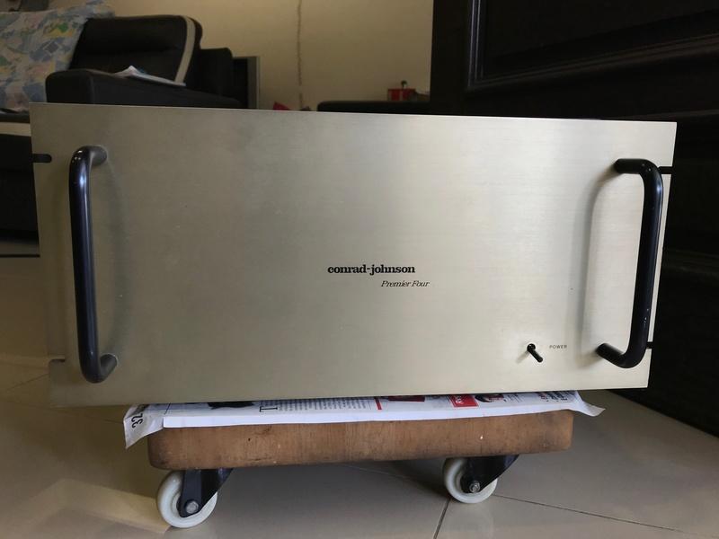 Cornard Johnson Premier Four Vacuum Tube Power Amplifier (Used) Img_5410