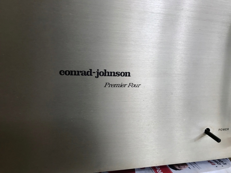 Cornard Johnson Premier Four Vacuum Tube Power Amplifier (Used) Img_5413