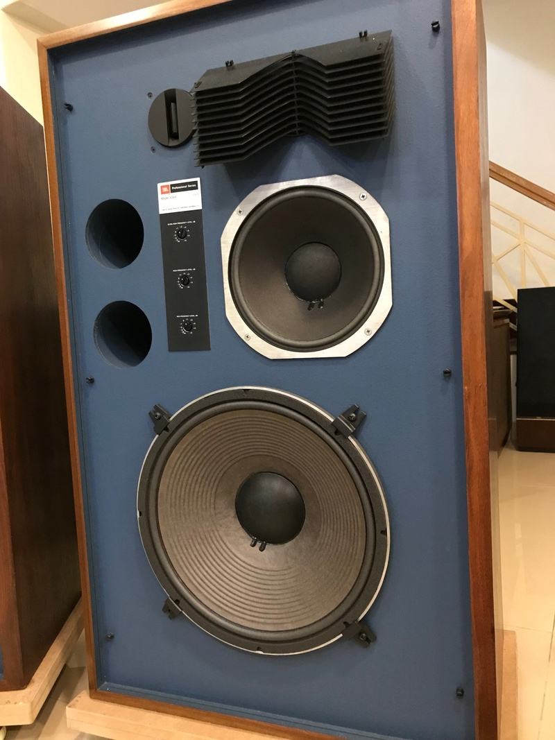 JBL 4344 Professional Series Studio Monitor Speakers, [Very rare item] (Used) Img_5419