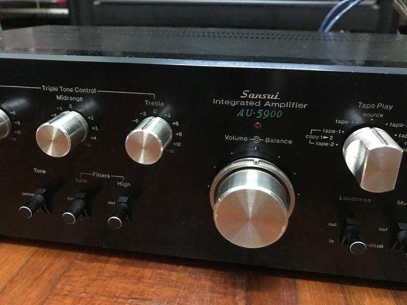 Sansui AU-5900 Integrated Amplifier (Used) SOLD Img_6115