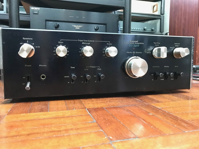 Sansui AU-5900 Integrated Amplifier (Used) SOLD Img_6116