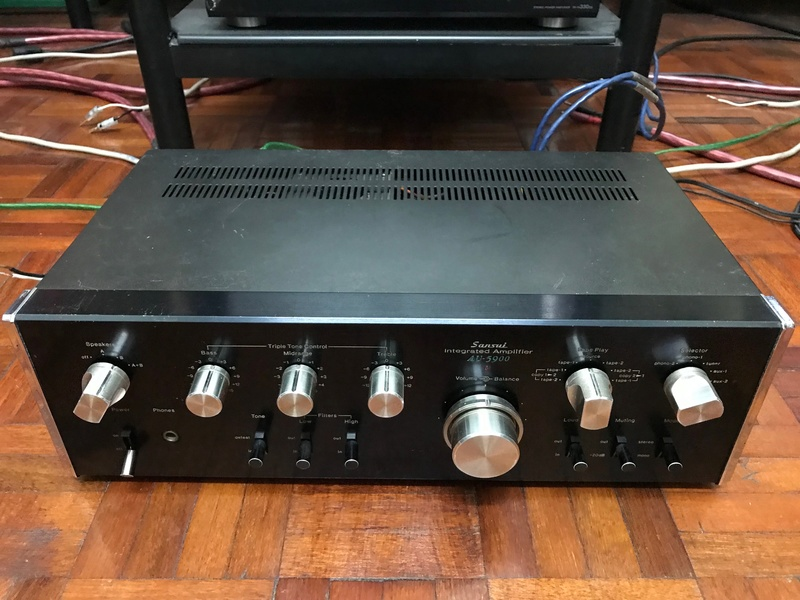 Sansui AU-5900 Integrated Amplifier (Used) SOLD Img_6117