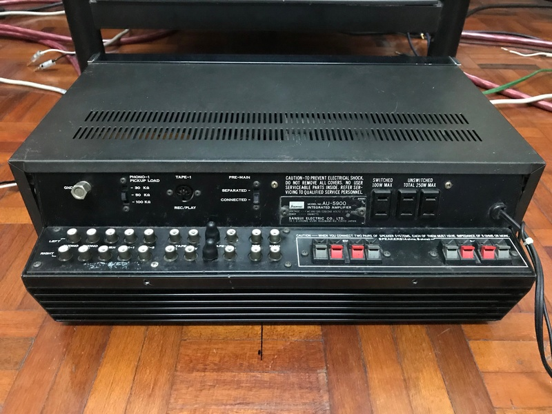 Sansui AU-5900 Integrated Amplifier (Used) SOLD Img_6118