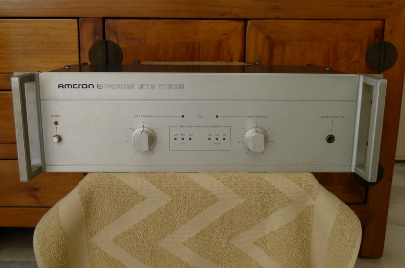 "Amcron ""Power Line Three"" Stereo Power Amplifier (Used) P1140410"