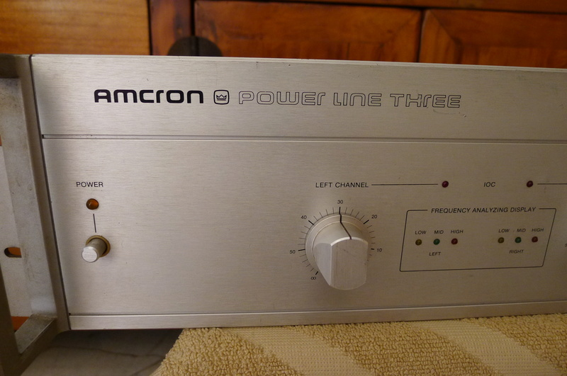 "Amcron ""Power Line Three"" Stereo Power Amplifier (Used) P1140411"