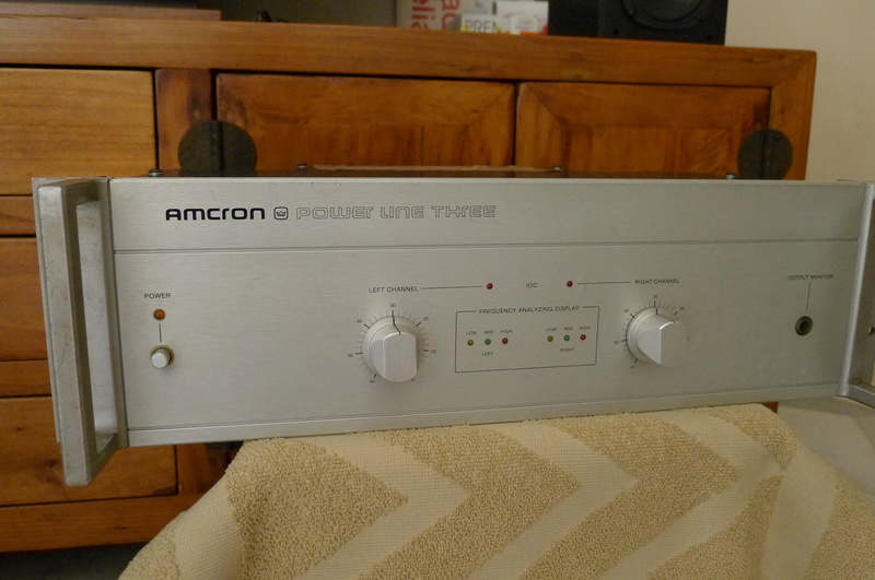 "Amcron ""Power Line Three"" Stereo Power Amplifier (Used) P1140413"