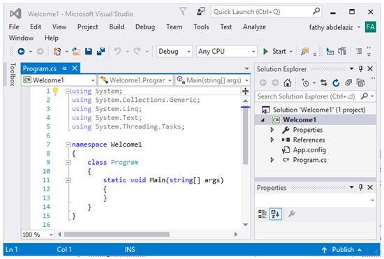 مدخل البرمجة بلغة السى شارب وتطبيقات الكونسول Console Applications   413