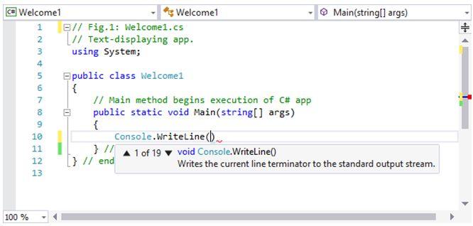 مدخل البرمجة بلغة السى شارب وتطبيقات الكونسول Console Applications   713