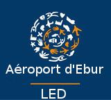 Inauguration de l'aéroport d'Ebur par Francii Logo10