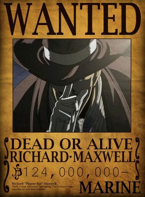 Wanted Board Richar10