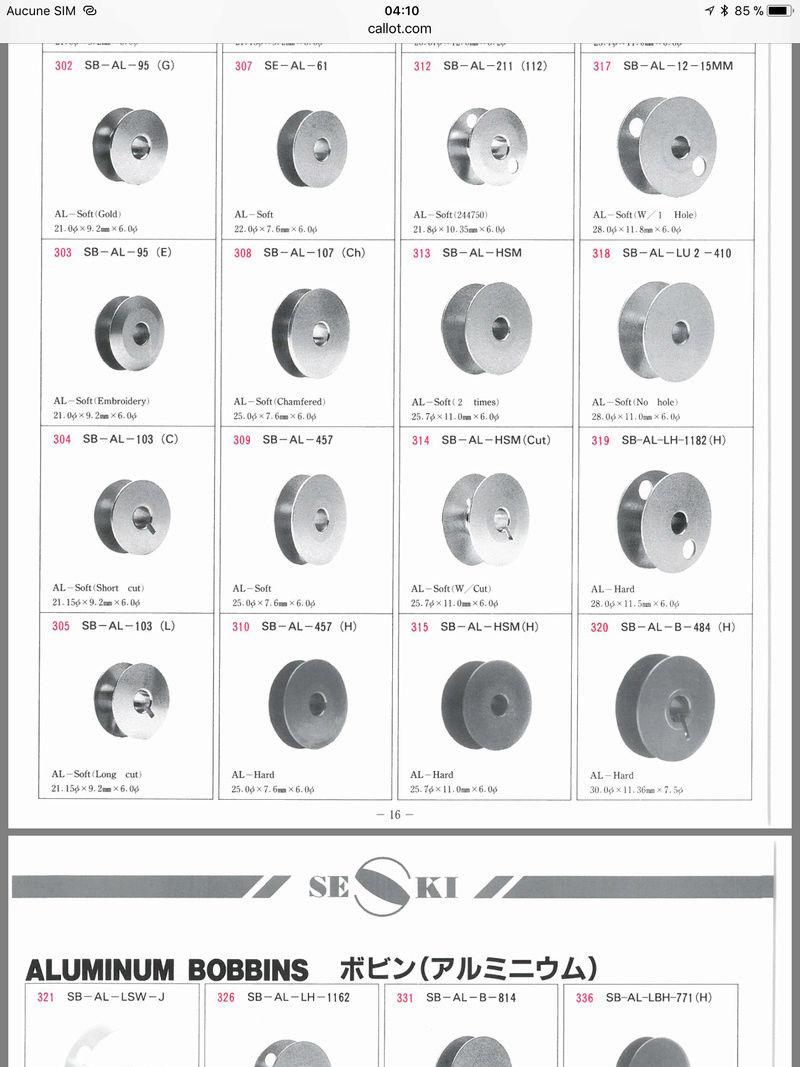 Catalogue de canettes SEKI F29a0b10