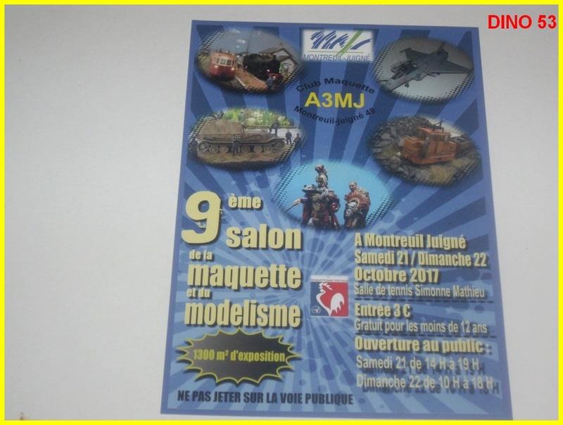 9ème Salon de la Maquette et du Modélisme à MONTREUIL JUIGNE (49) Club A3MJ  Dino5310