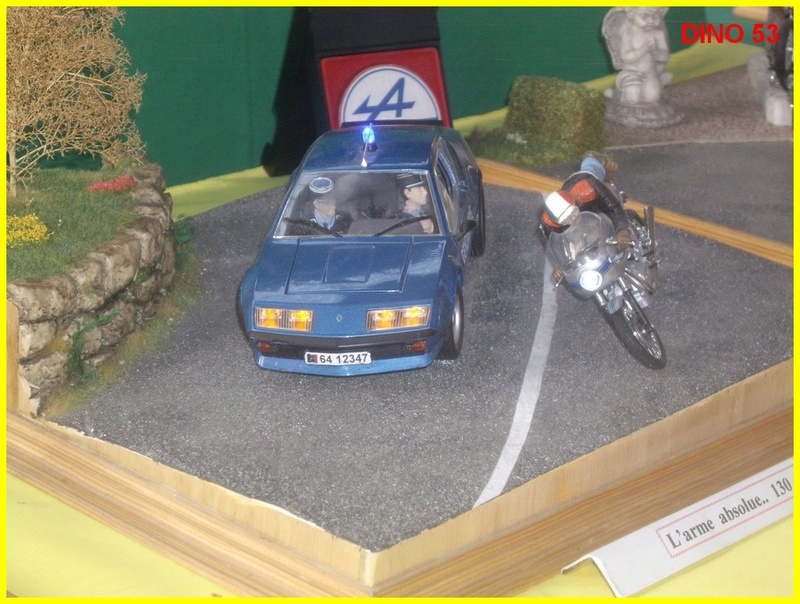 9ème Salon de la Maquette et du Modélisme à MONTREUIL JUIGNE (49) Club A3MJ  Dino5311
