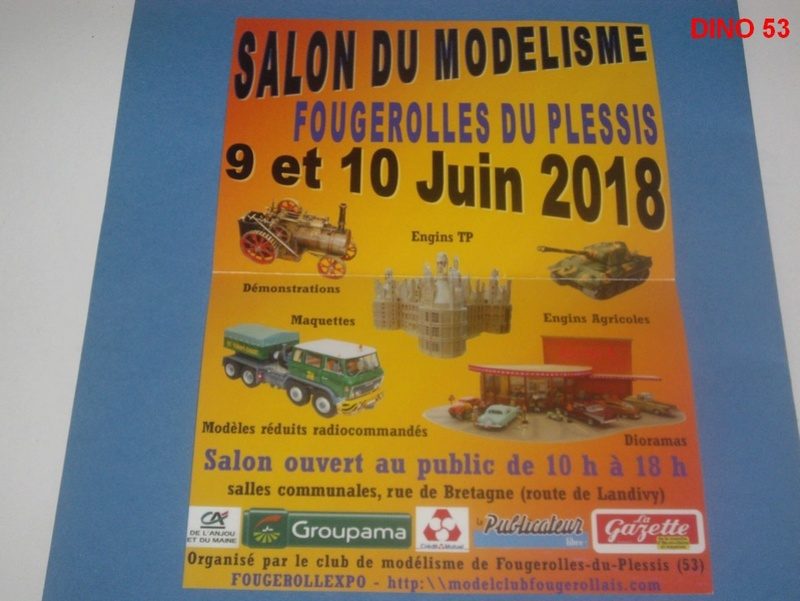 Salon du Modélisme à FOUGEROLLES DU PLESSIS  (La Mayenne) 53  Imgp8114