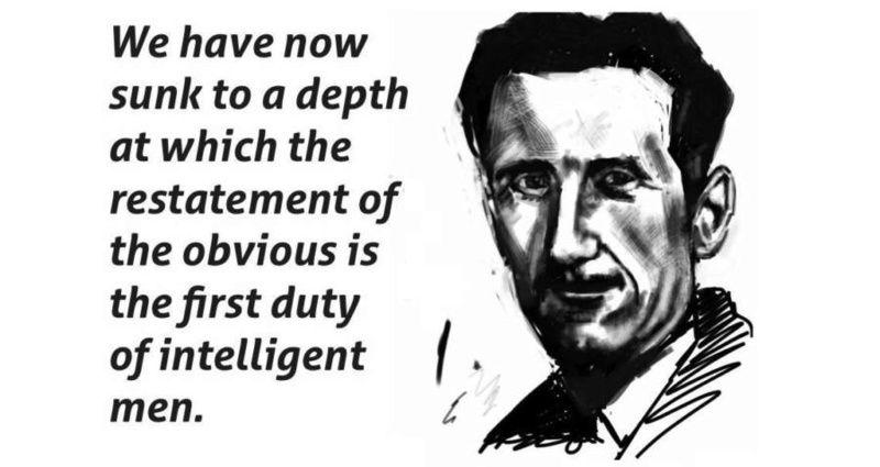 Satyr's Political Innuendos Orwell10