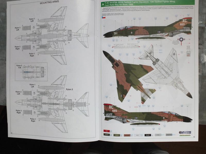 Le F4 C en camo guerre du Vietnam... S0272010