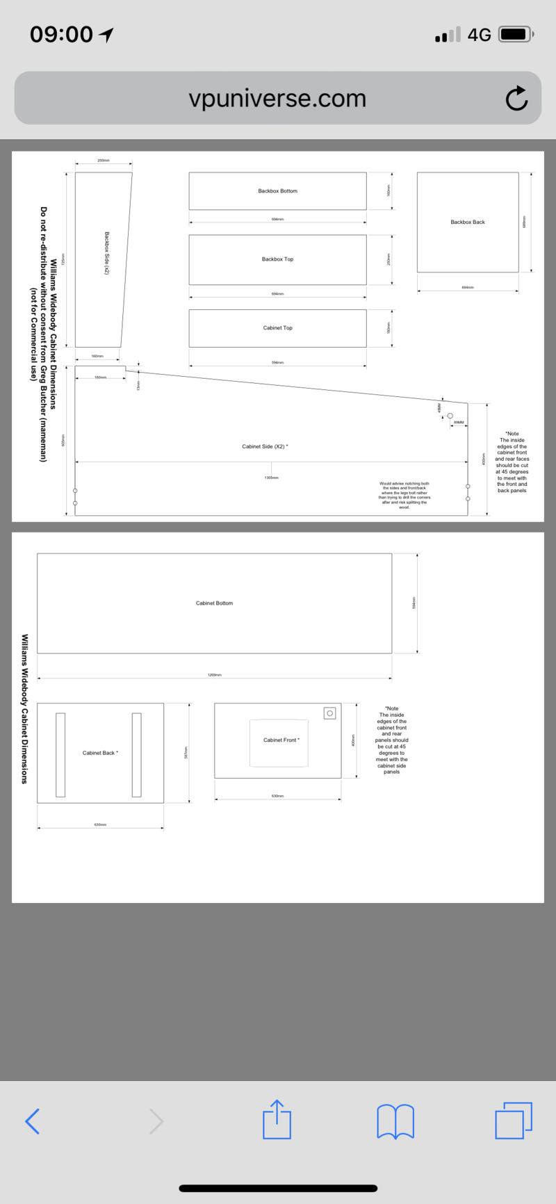[WIP]  Pincab de Seebino en cours de préparation  C3162010