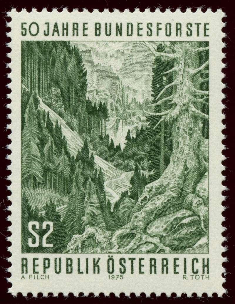 Österreich, Briefmarken der Jahre 1975 - 1979 Ank_1516