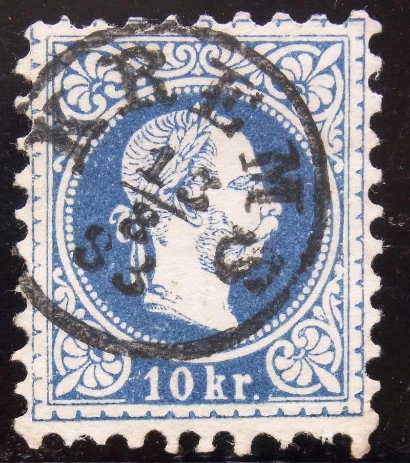 Freimarken-Ausgabe 1867 : Kopfbildnis Kaiser Franz Joseph I - Seite 19 Ank_3810
