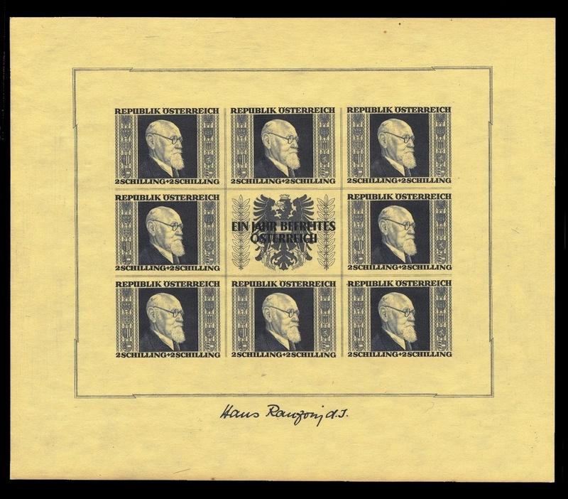 Briefmarken - Österreich, Briefmarken der Jahre 1945-1949 Ank_7815