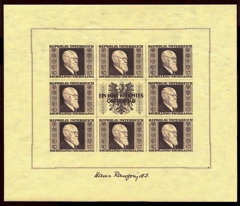 Briefmarken - Österreich, Briefmarken der Jahre 1945-1949 Ank_7818