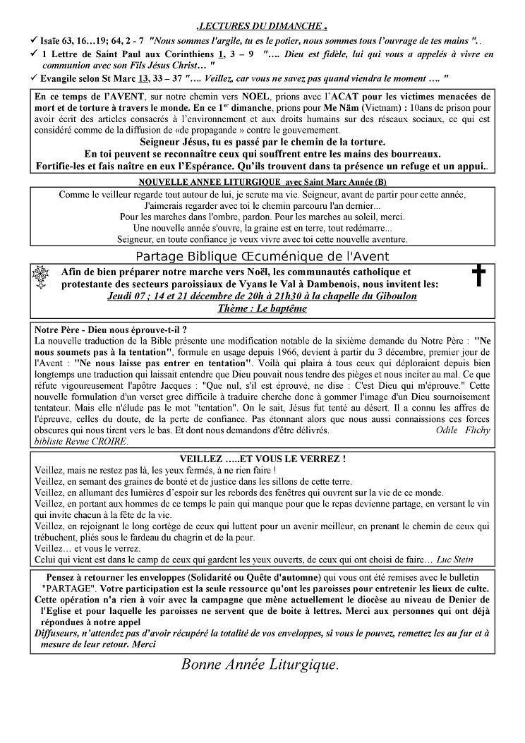 Trait d'union du 3 décembre 2017 Tu171211