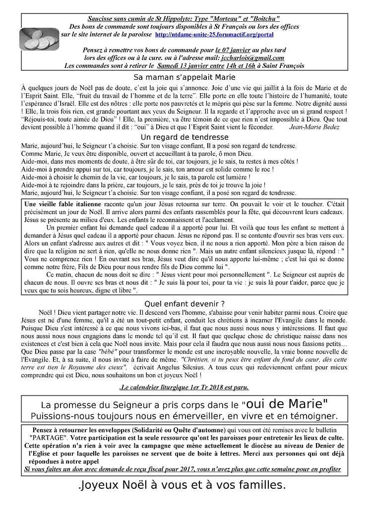 Trait d'union du 24 décembre 2017 Tu171218