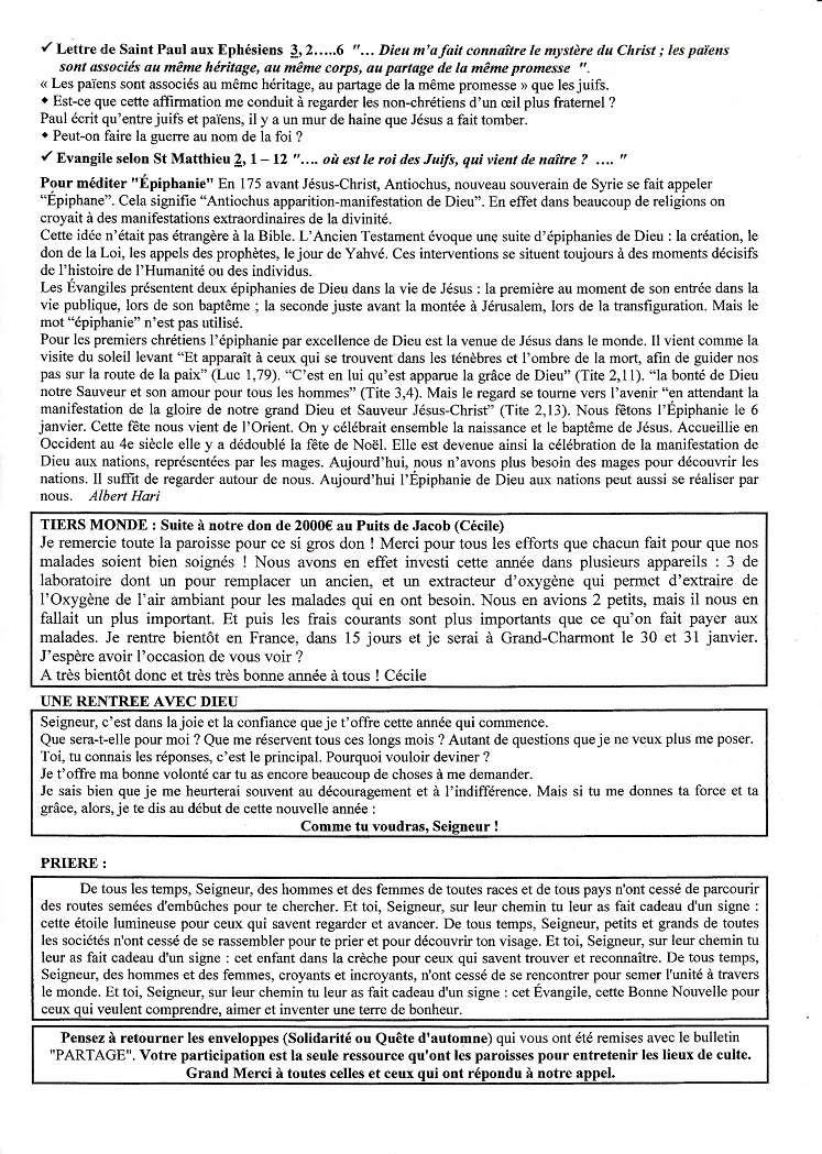 Trait D'Union du 7 janvier 2018 Tu180111