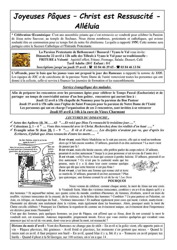 forum Nt Dame de L'Unité - 25 - Portail Tu180411