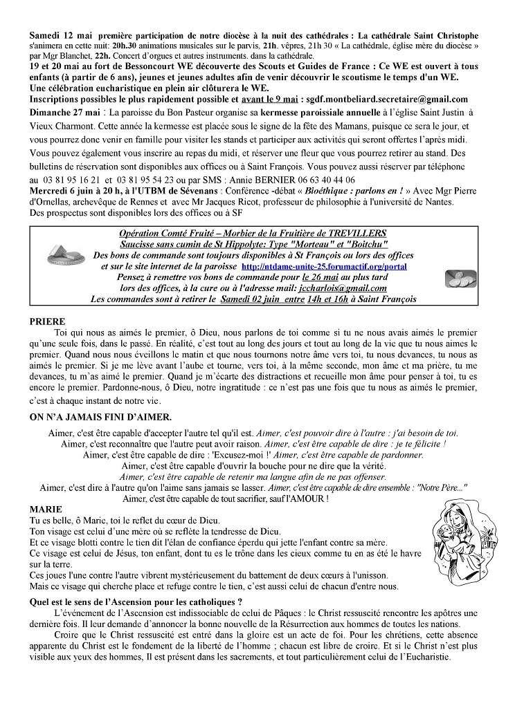 forum Nt Dame de L'Unité - 25 - Portail Tu180511
