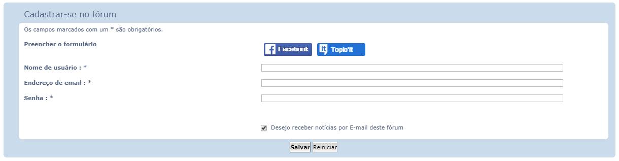 RGPD: Termos de Privacidade para os fóruns Regist10