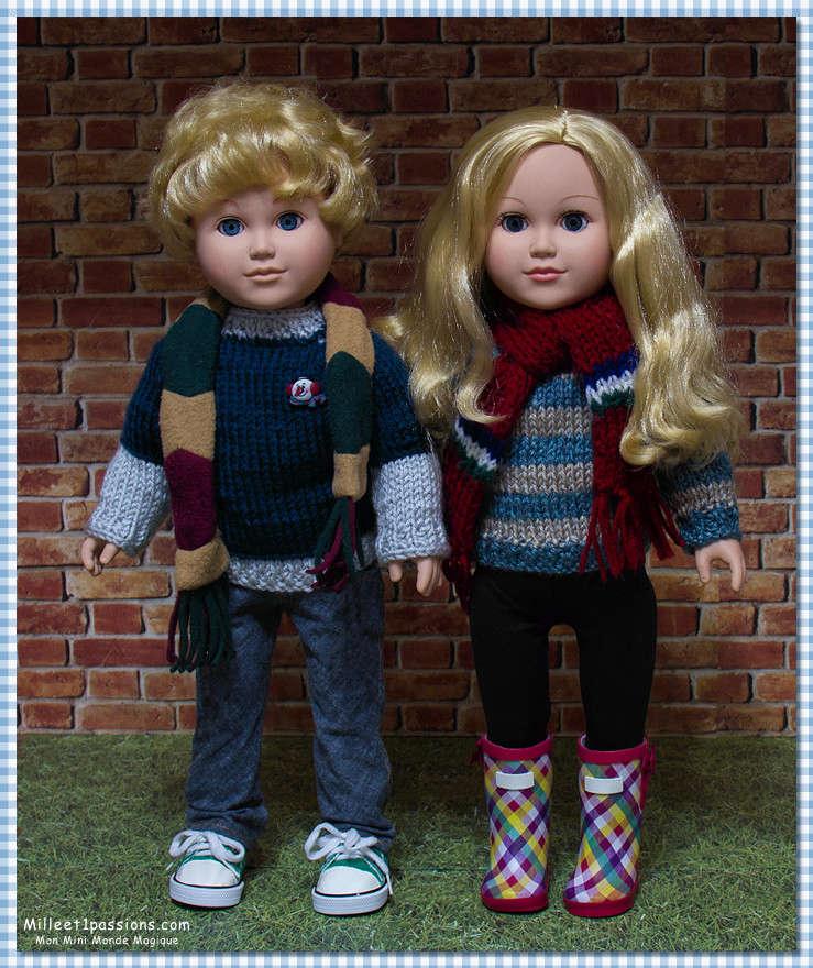 Nouvelle venue parmi mes 18 pouces : une poupée My Life as .... la jumelle de Jonathan le coquin ! Img_7838