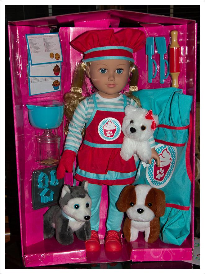 Nouvelle venue parmi mes 18 pouces : une poupée My Life as .... la jumelle de Jonathan le coquin ! Img_9810