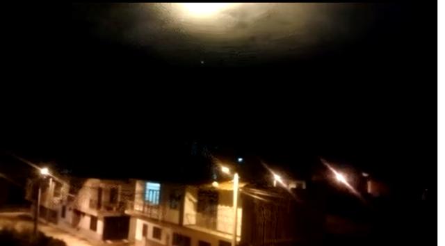 OVNI en Colombia Ocaña 31/12/2017 Colomb10
