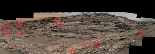 Extraños objetos en una imagen del Curiosity en Marte Marte_10