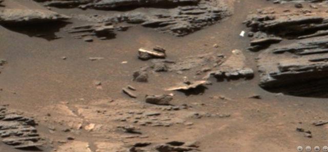 Extraños objetos en una imagen del Curiosity en Marte Marte_12